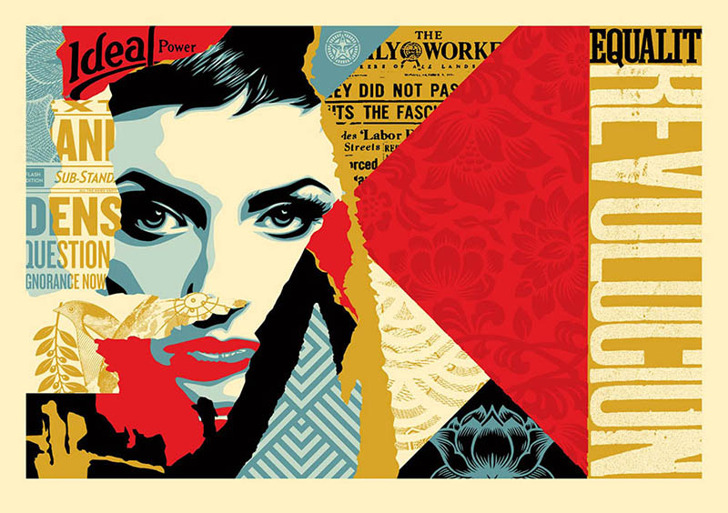 Shepard Fairey - Ideal Power Large Format Print