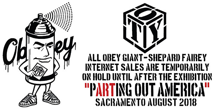 Obey Giant & Shepard Fairey Sales Offline til After Show
